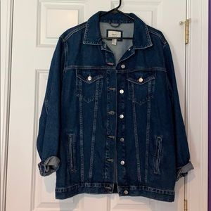 Forever 21 Jean Jacket - Soft and Oversized